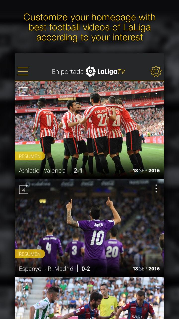 LaLiga TV - Fútbol Oficial