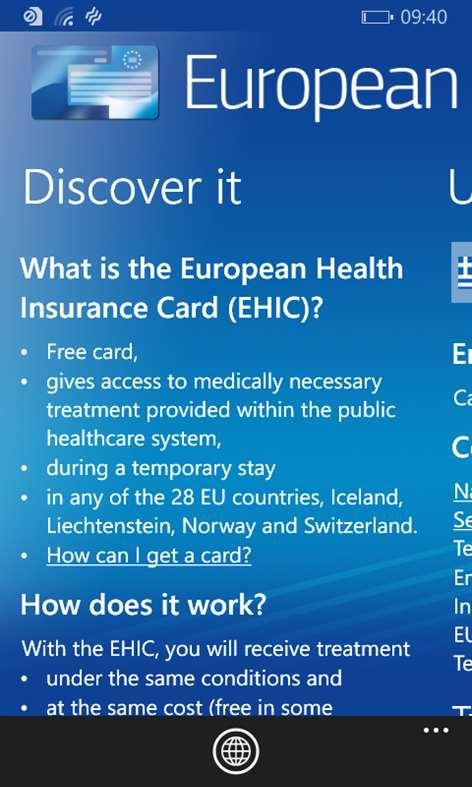 Get European Health Insurance Card - Microsoft Store en-GB