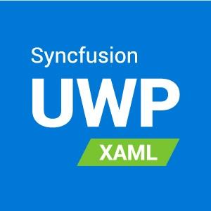 Syncfusion Essential Studio for UWP