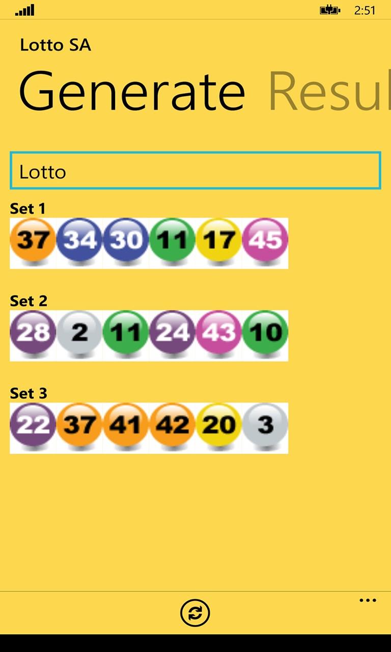 lotto sa for windows 10