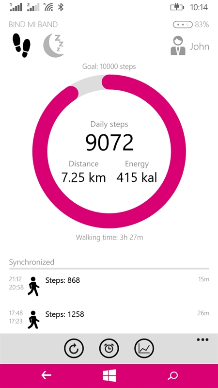 Bind Mi Band Screenshot