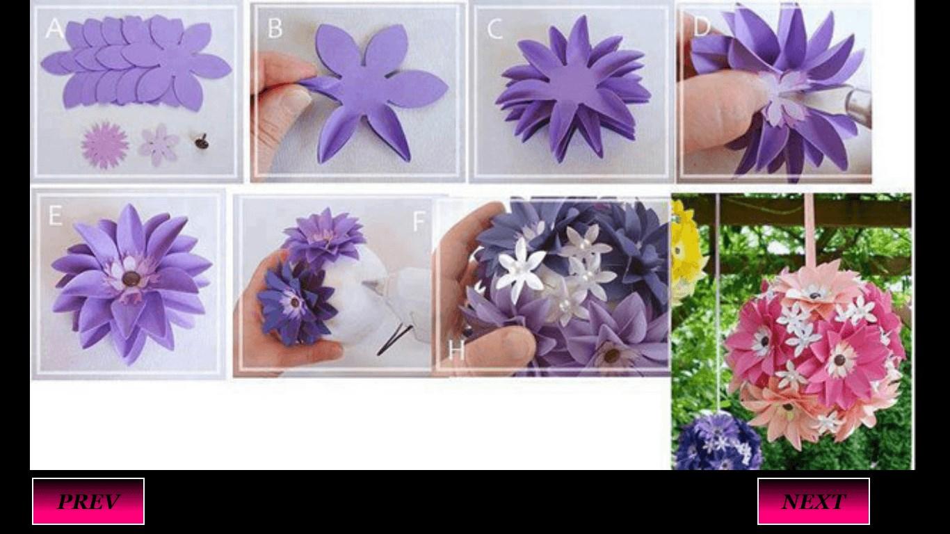Цветы из картона из бумаги своими руками
