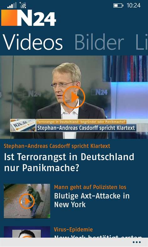 N24 App Windows Phone