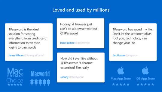 1Password screenshot 4