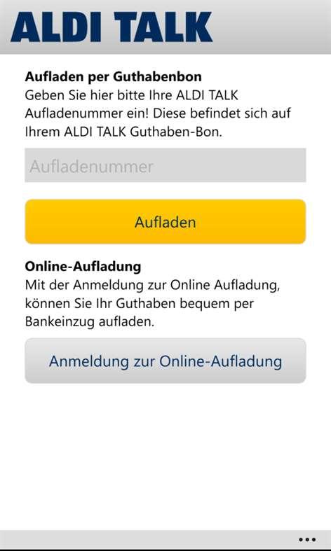Aldi Talk Mit Paypal Aufladen