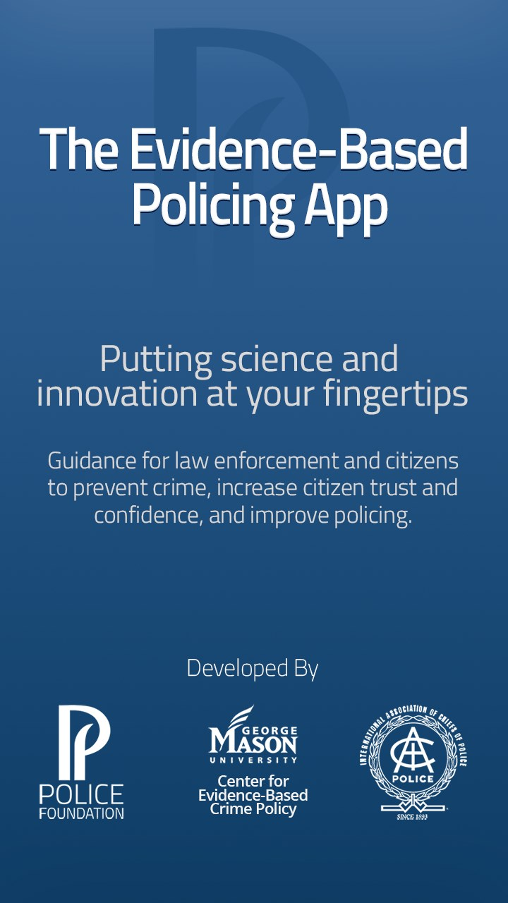 police and evidence based policing