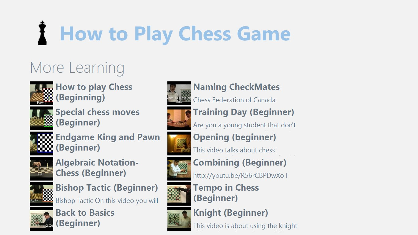 How To Play Chess Game For Windows 10 Free Download On