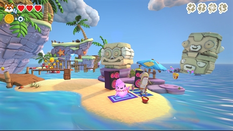 Super Lucky's Tale - Gilly Island Add on Screenshot