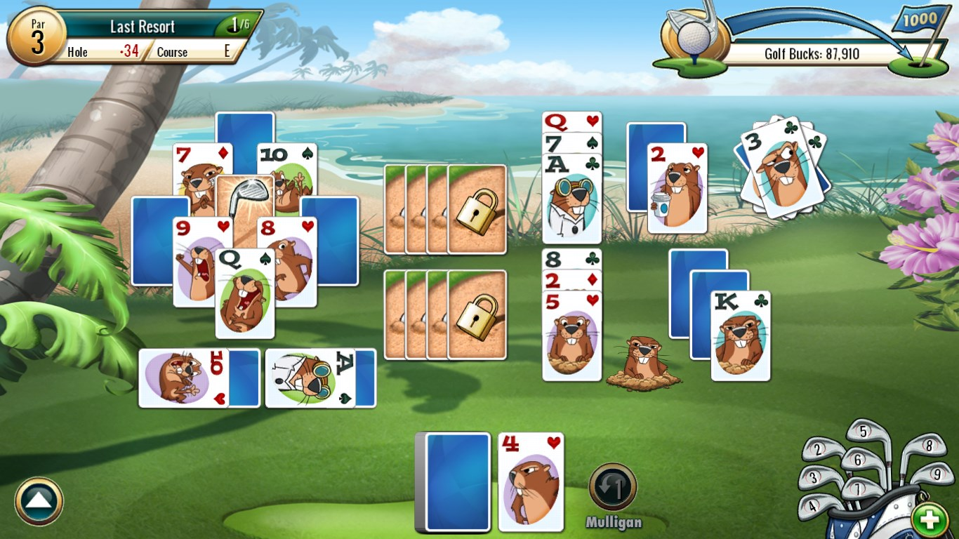 Fairway solitaire by big fish full for windows 10 free for Big fish games free download