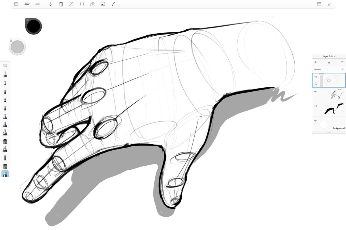 Autodesk SketchBook updates on Windows 10, brings back Pen