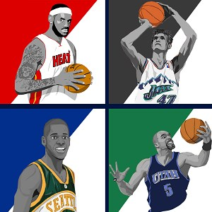 Basketball Super Star Trivia Quiz - Guess The Name Of Basketball player
