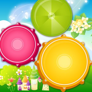 Baby Drums Musical Game For Kids