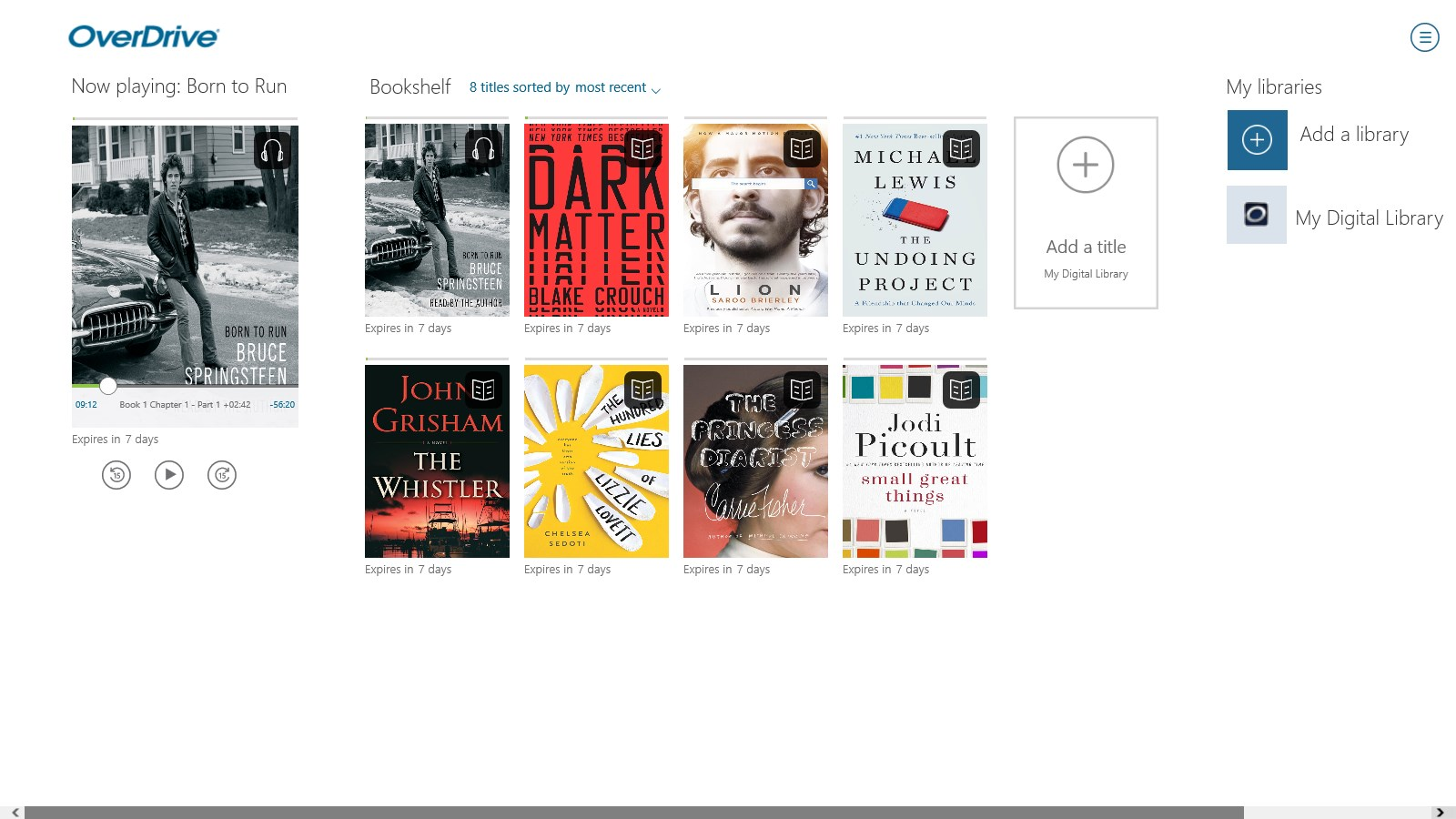 OverDrive - Library eBooks & Audiobooks