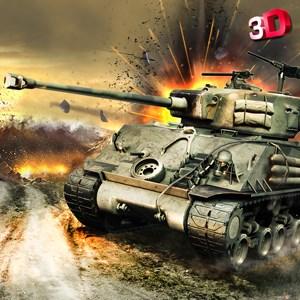 Tank Battle 3D - Heavy Fury Tank Duty in World War
