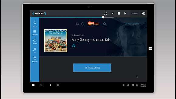 SiriusXM screenshot 1
