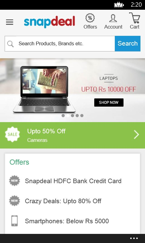 Snapdeal online shopping review