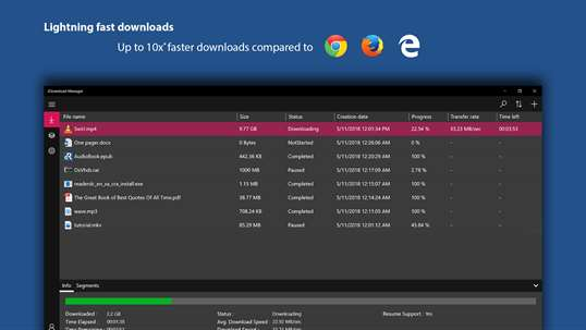 iDownload Manager (iDM) screenshot 1