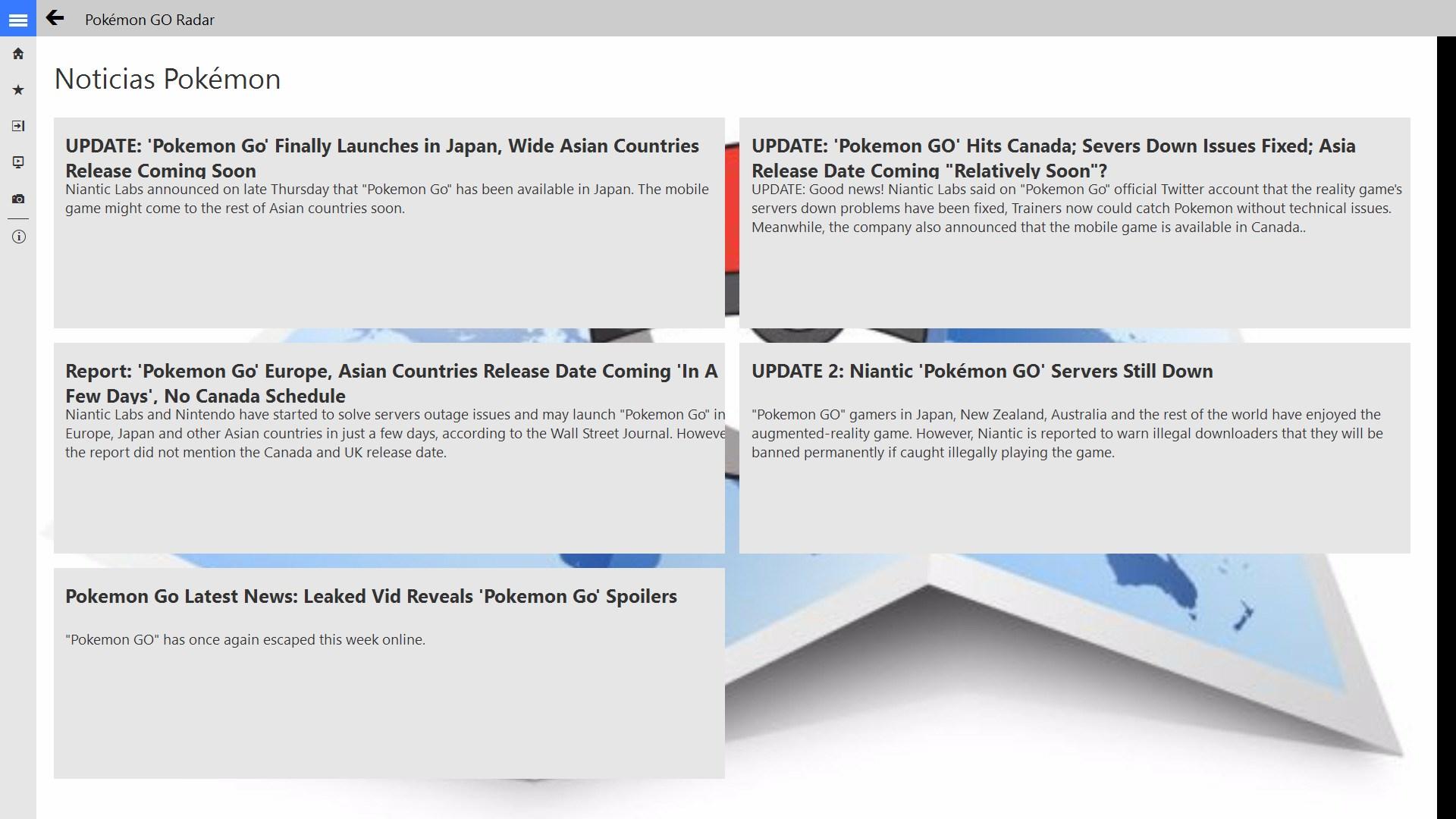 Pokémon GO Radar | FREE Windows Phone app market