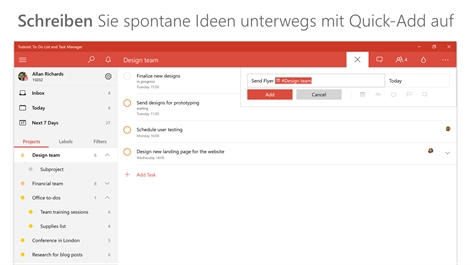 Todoist: To-Do List and Task Manager Screenshot