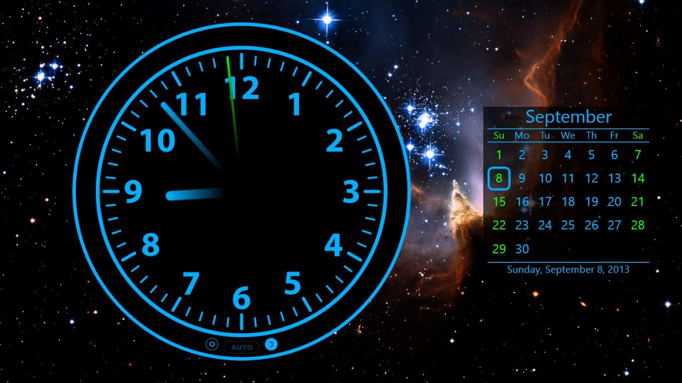 Совет 1: Как установить часы на рабочем столе 97