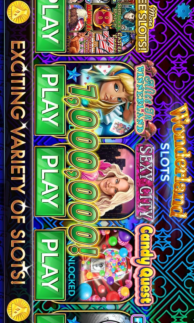 Slot - Wonderland Free Slots Casino