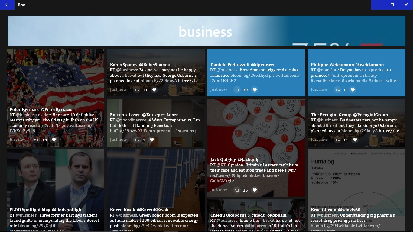 Beat: Discover Trending Tweets on Twitter