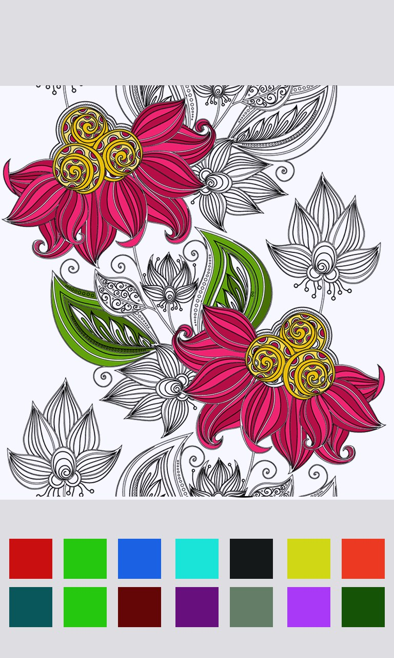 Zen coloring books for adults app - Zen Coloring Books For Adults App On Windows Adult Coloring Book With Multiple Templates Amp