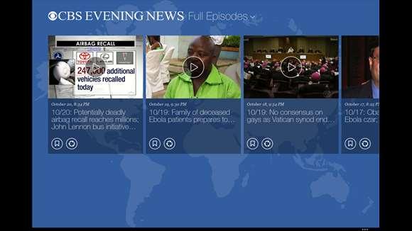 CBS News screenshot 3