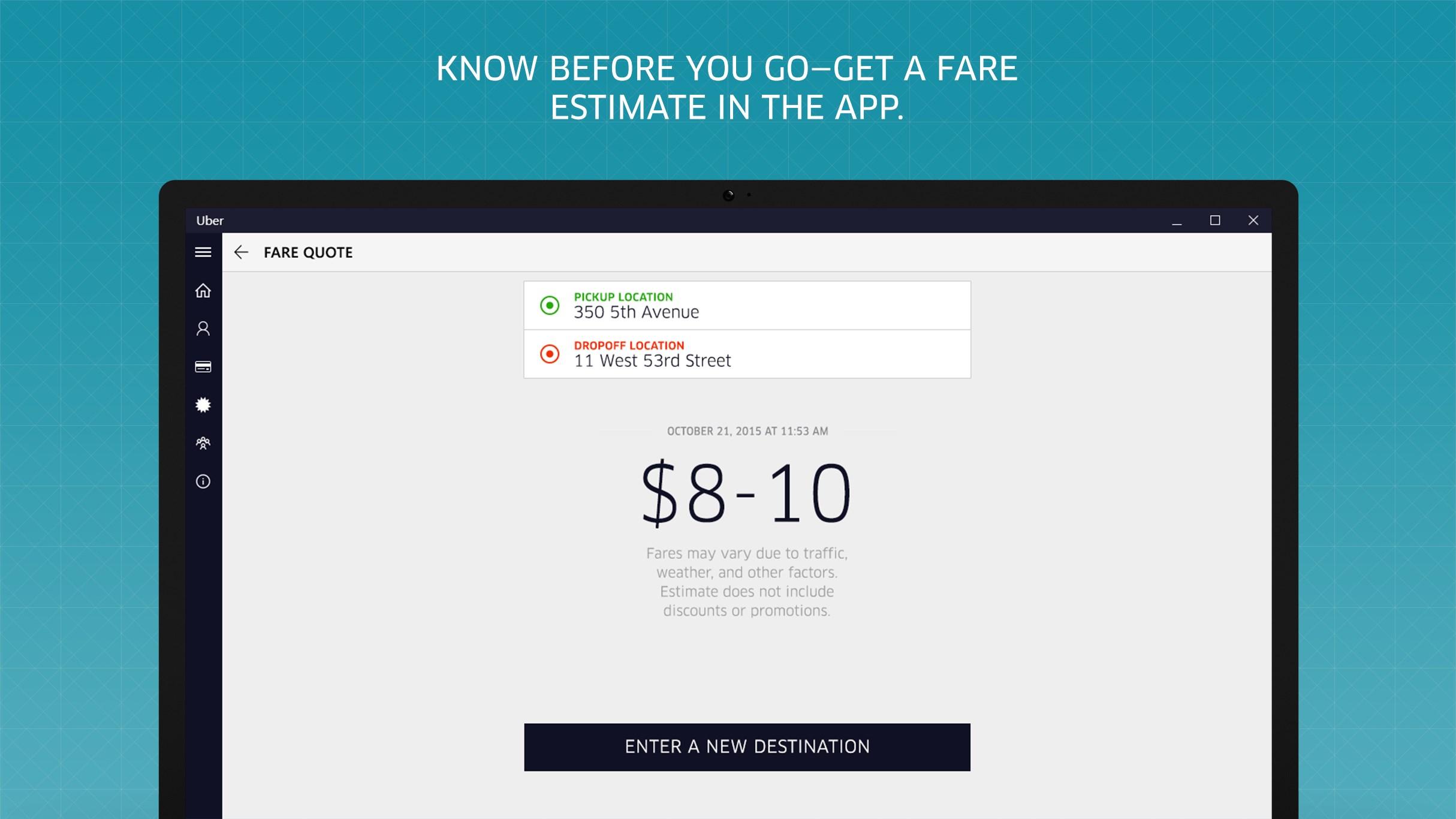 how to download uber recript