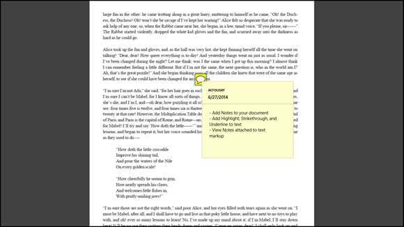 pdf reader windows 10 touch