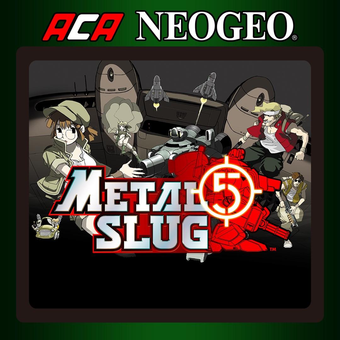 ACA NEOGEO METAL SLUG 5 achievements