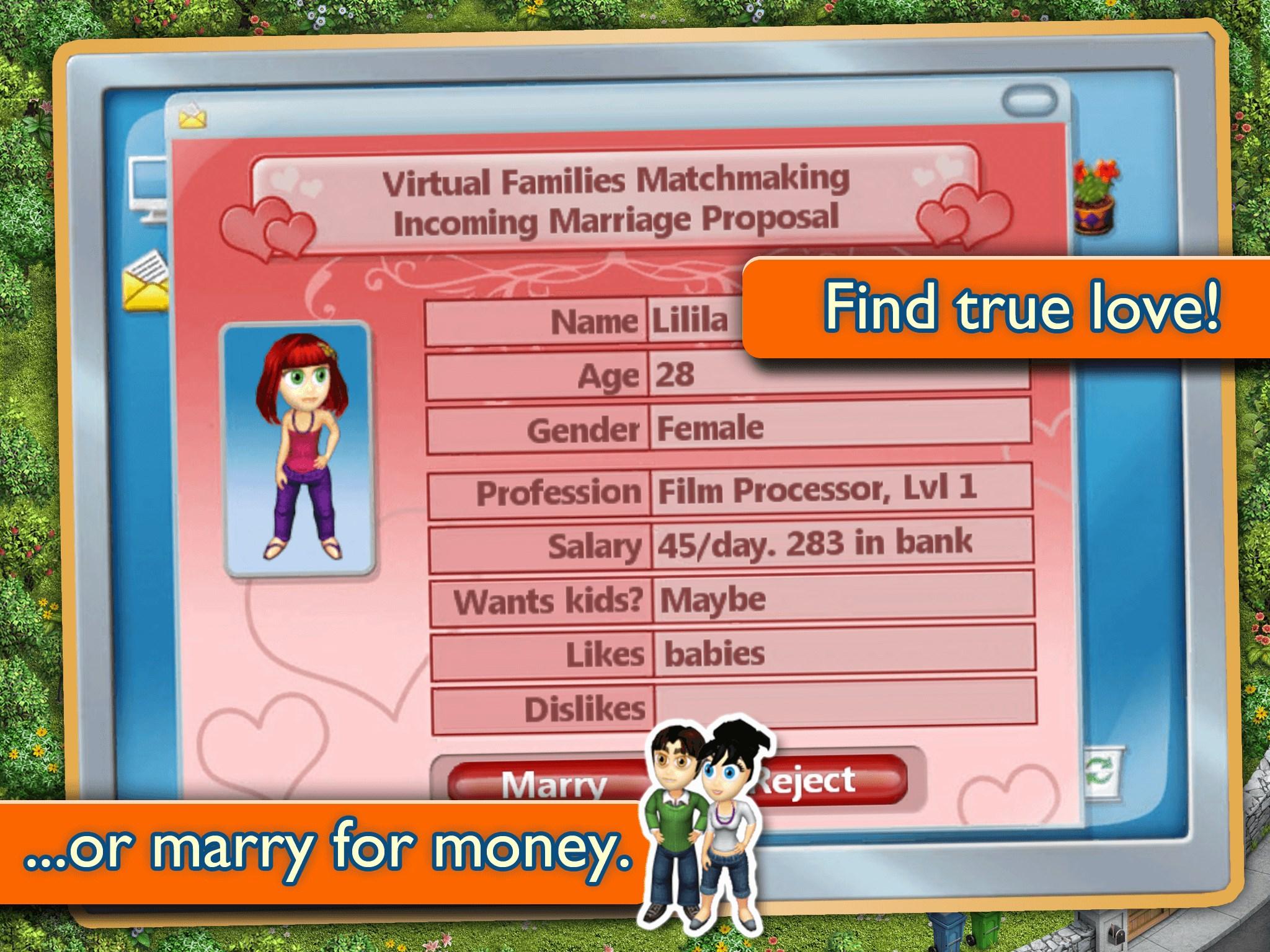 Virtual Families 2: My Dream Home