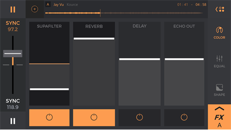 edjing PRO - Music DJ mixer Screenshot