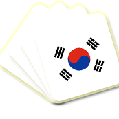 BG Korean Cards