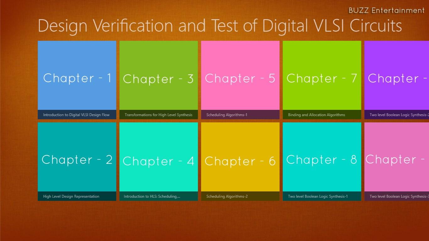Design Verification And Test Of Digital Vlsi Circuits Free Windows Testing Circuit Prev