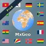 World Atlas & Quiz MxGeo Free
