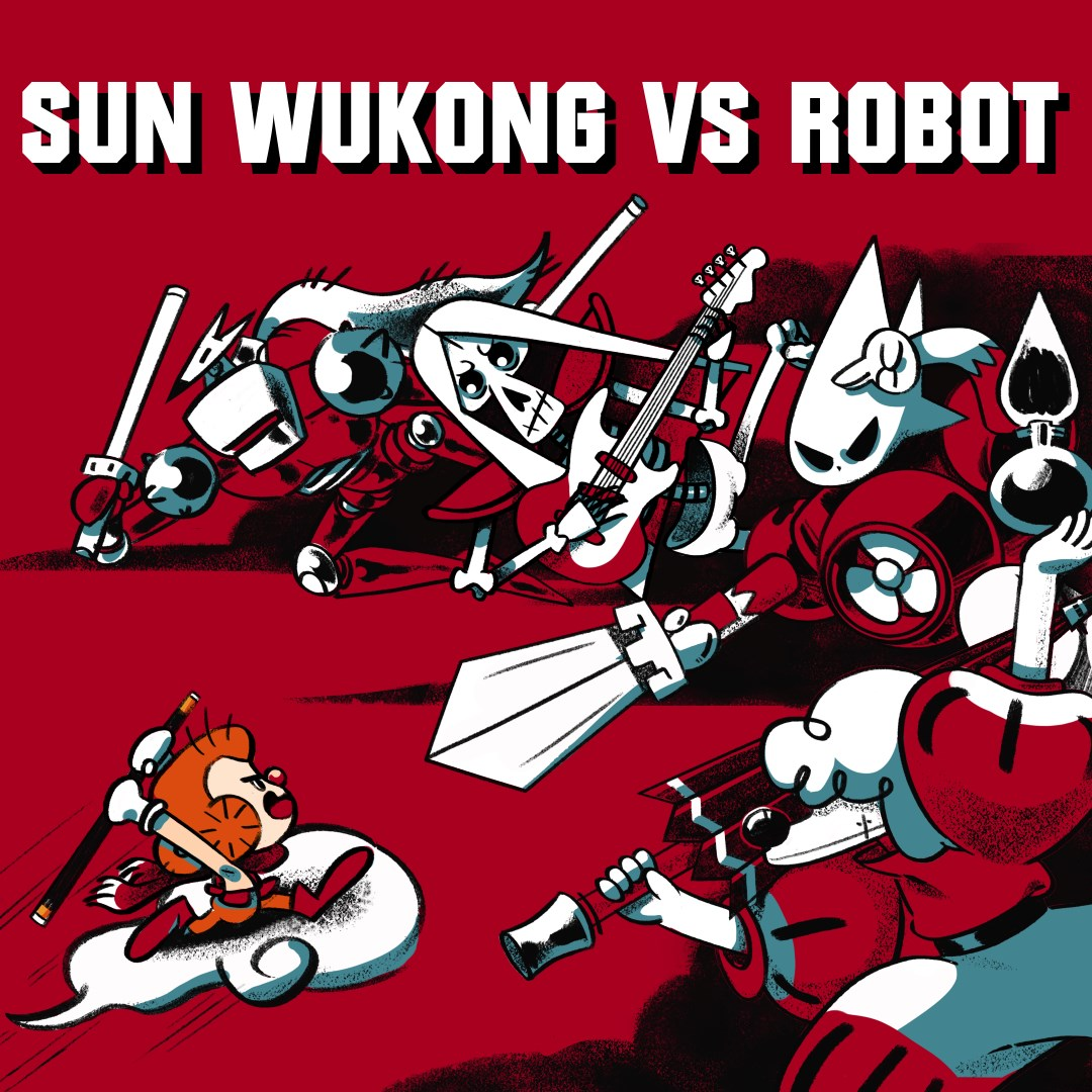 Image for Sun Wukong VS Robot
