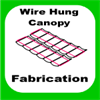 Slide-on Wire Hung Canopies