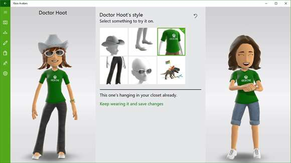 Xbox Avatars Screenshot