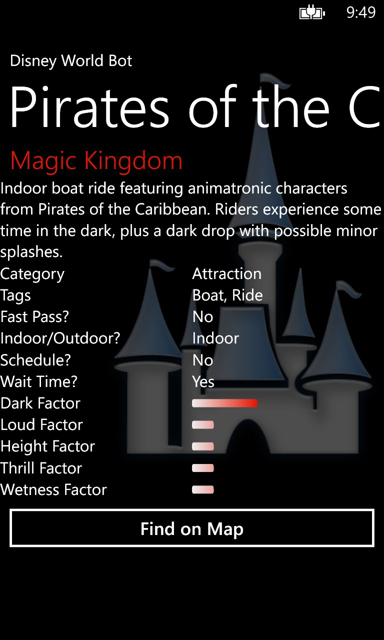 Disney World Bot Free Windows Phone App Market