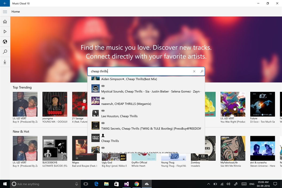 Music Cloud 10 Screenshot
