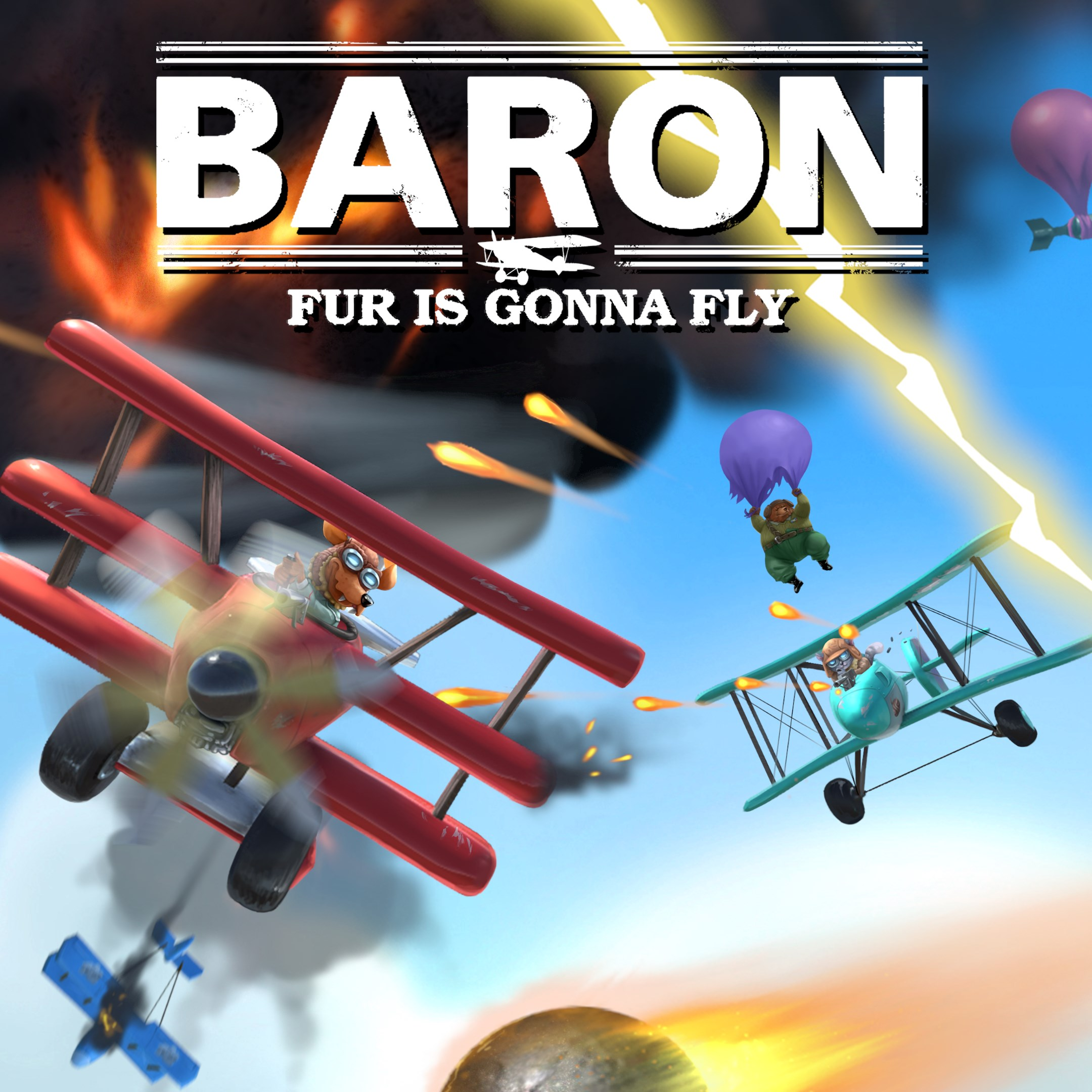 Baron: Fur Is Gonna Fly achievements
