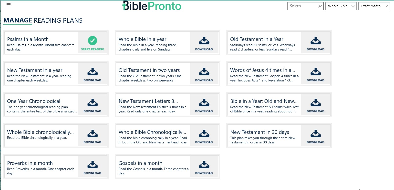 Bible Pronto