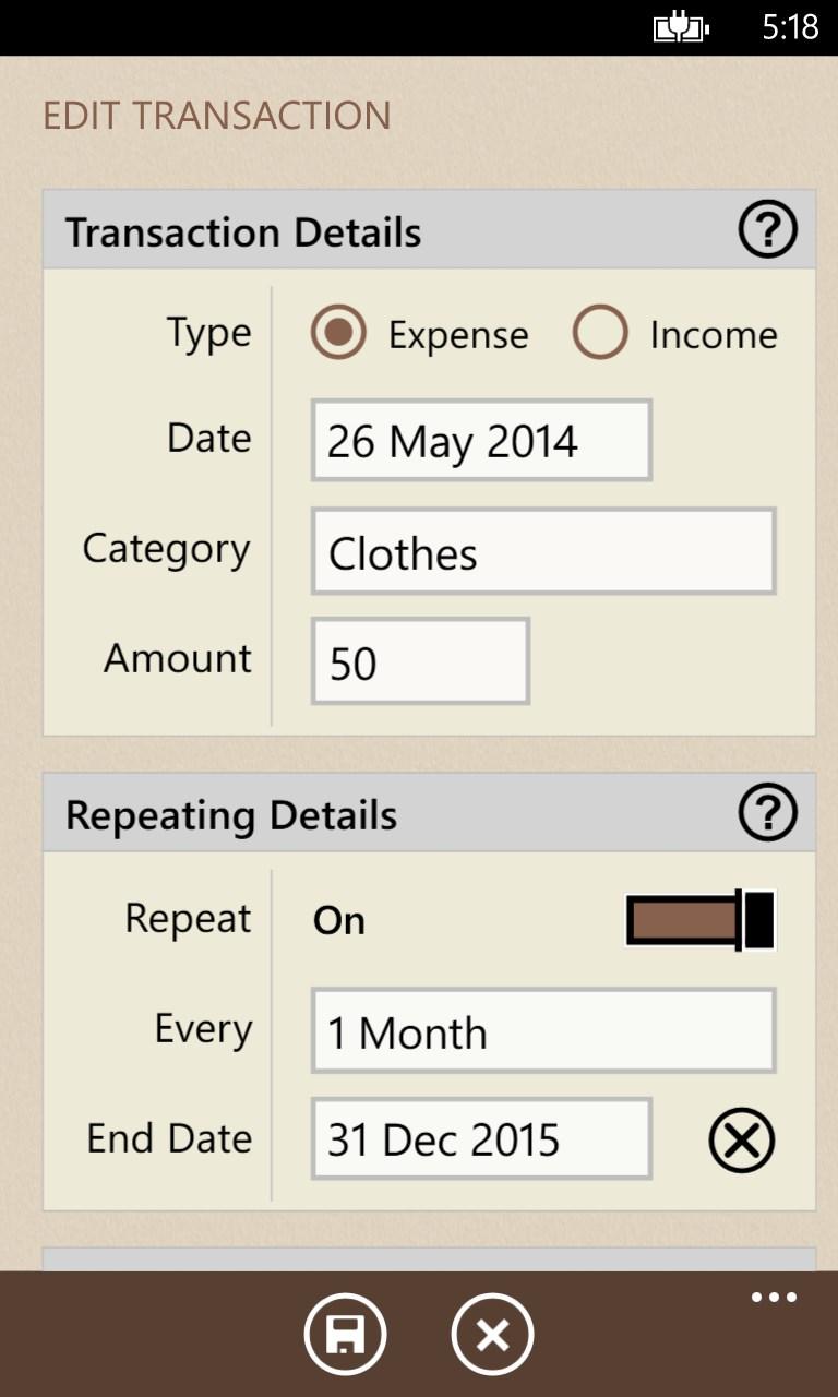 Spending Tracker ™