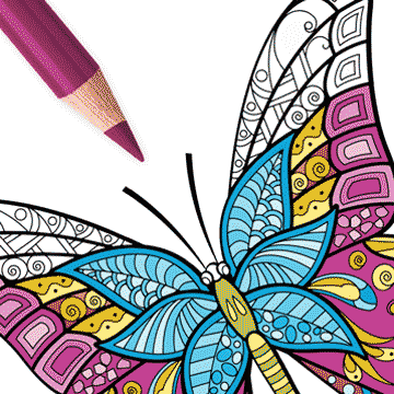 Coloring book for adults icolor coloring pages free Coloring book ios
