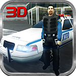 San Andreas City Police Van 3D