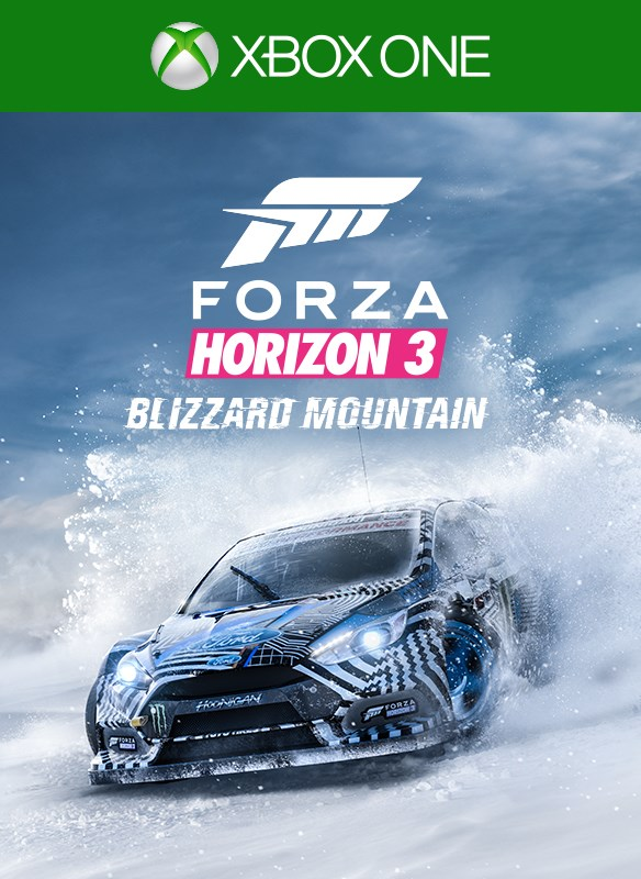 Forza Horizon 3 Blizzard Mountain boxshot