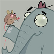 Mr. Elephant + Mr. Mouse