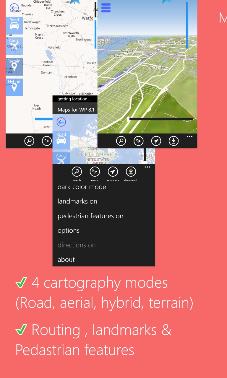Maps for LUMIA - Premium