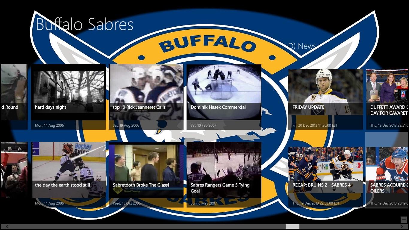 buffalo sabres app for windows 10 free download on windows 10 app store. Black Bedroom Furniture Sets. Home Design Ideas